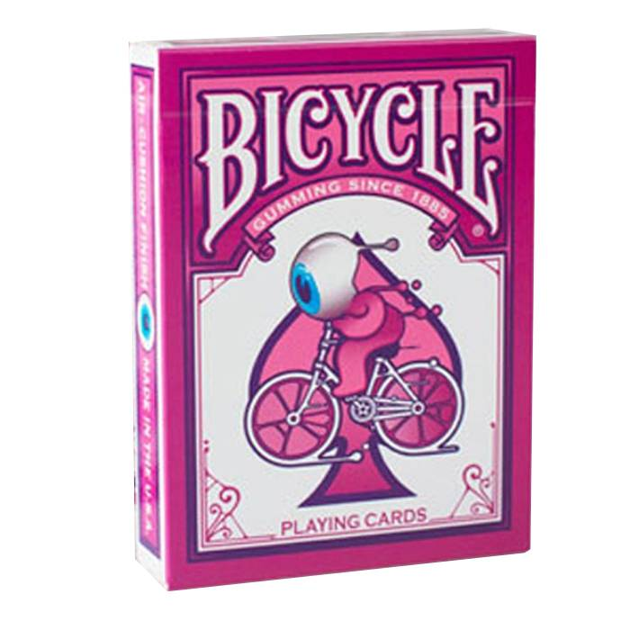 "Bicycle ""STREET ART"" - jeu de 54 cartes toilées plastifiées – format poker – 2 index standards"