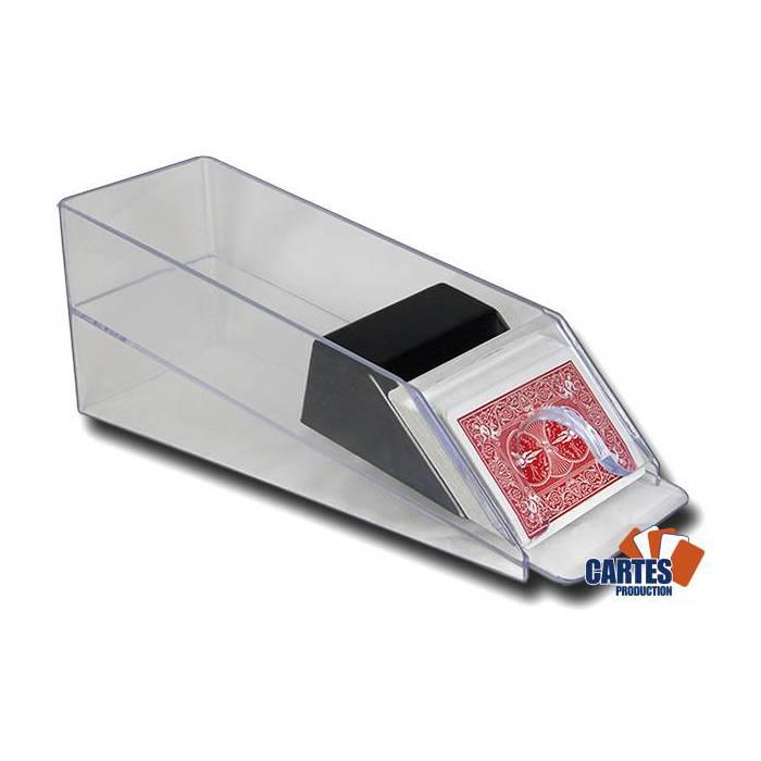 Sabot 6 jeux de cartes - en acrylique