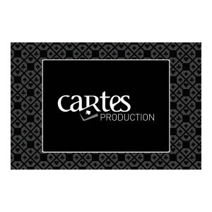 "Tapis de jeu ""CARTES PRODUCTION"" - rectangulaire - jersey néoprène - 60 x 40 cm"