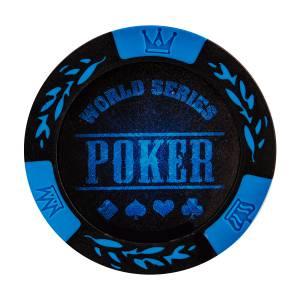 """Jeton de poker """"LEAF"""" – en clay composite avec insert métal – 14g – en vente à l'unité"""