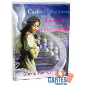 Cartes divinatoires des Saints et des Anges – jeu de 44 cartes