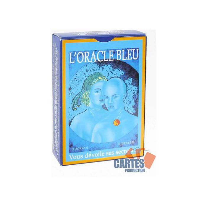L'Oracle Bleu - jeu de 73 cartes