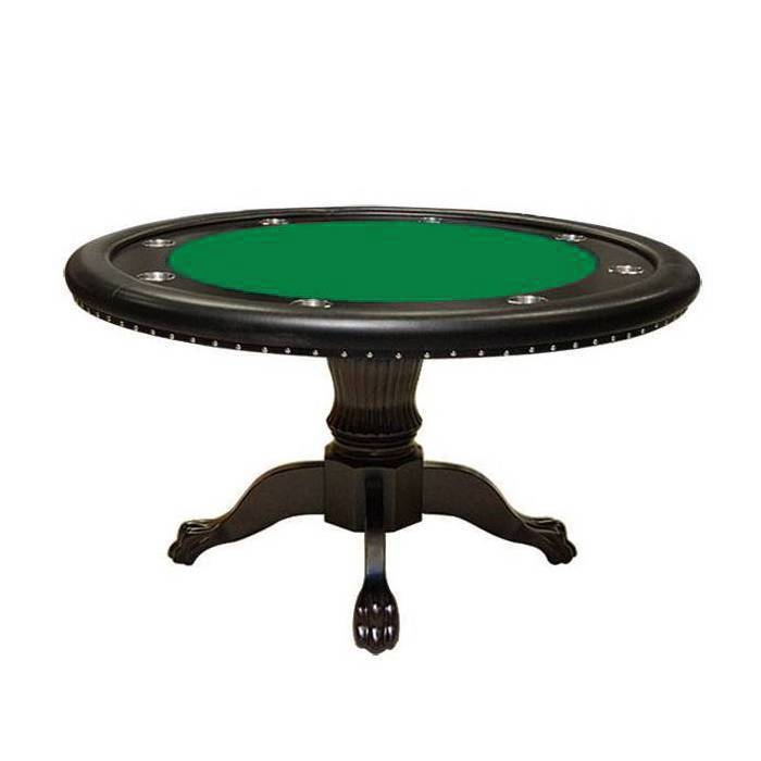 Table De Poker Ronde Bellini Alabama Avec Dining Top 8 Joueurs