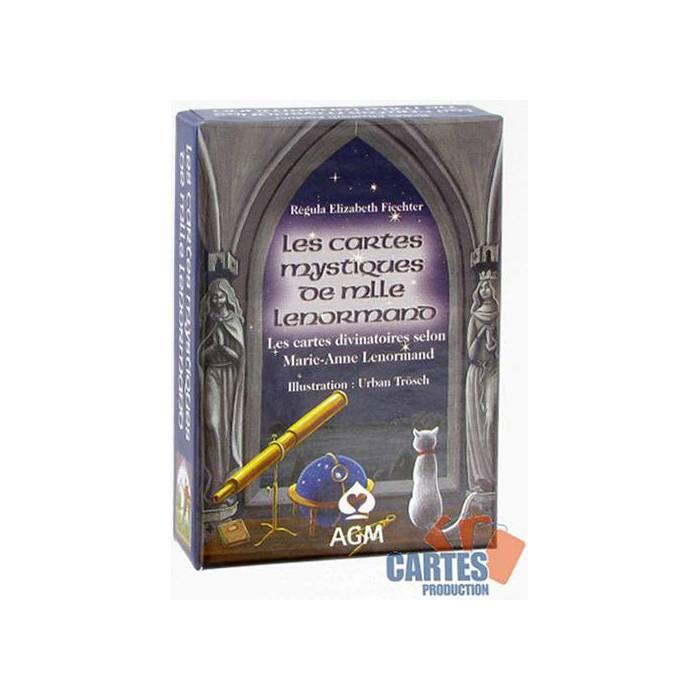 Les cartes Mystiques de Melle Lenormand – jeu de 36 cartes