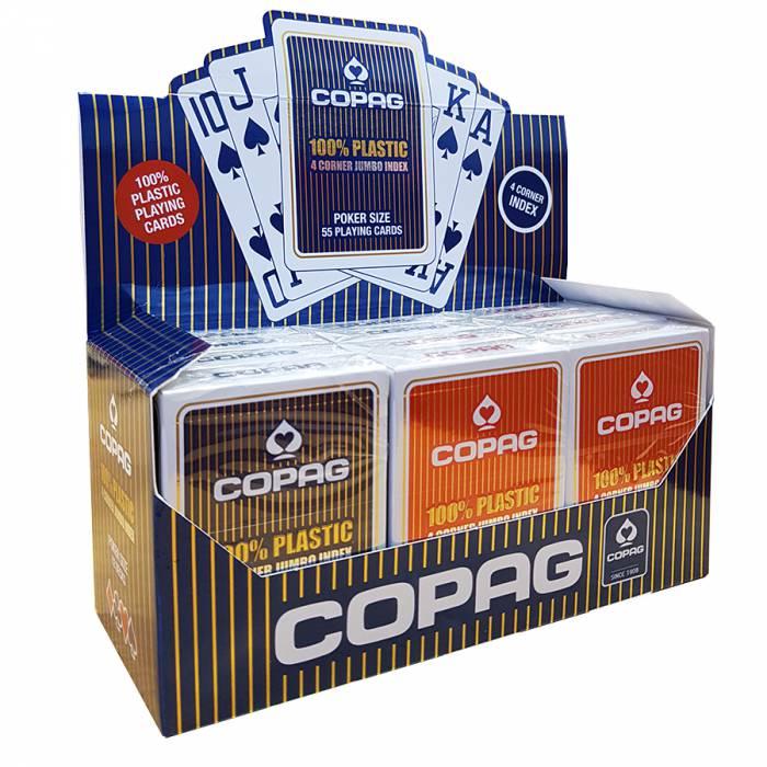 """Cartouche Copag """"4 CORNER"""" – 10 jeux +2 OFFERTS"""