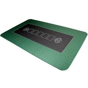 """Tapis de poker """"BULLETS"""" - en jersey néoprène - rectangulaire - 160 cm X 80 cm"""