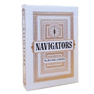 "Theory11 ""NAVIGATOR"" – jeu de 55 cartes toilées plastifiées – format poker – 2 index standards"