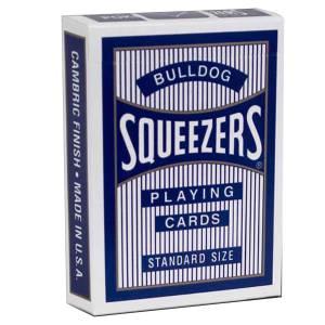 "Squeezers ""BULLDOGS""- Jeu de 54 cartes plastifiées – format poker – index standards"