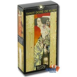 Tarot Doré de Klimt - jeu de 78 cartes