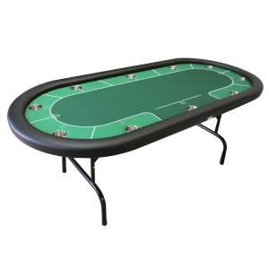 """Table de Poker """"JARQUE"""" - avec pieds pliants"""