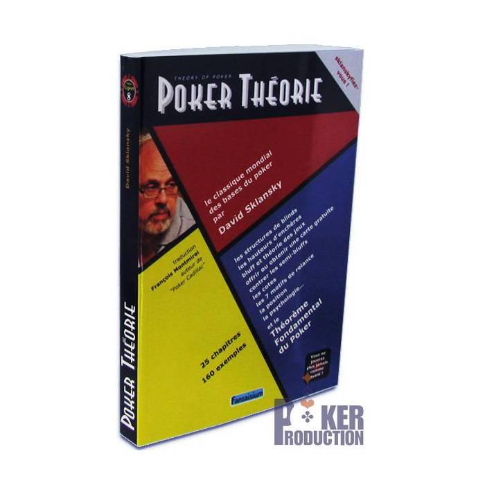 Poker Théorie – par David Sklansky – 352 pages -  Edition Fantaisium