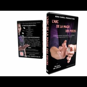 """DVD Kris Carol """"ABC DE LA MAGIE DES PIECES"""" - 3h45"""