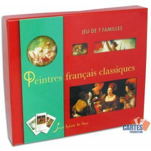 Jeu des 7 familles Les Peintres Français Classiques - Jeu de 42 cartes