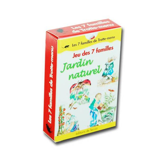 Jeu des 7 Familles Jardin au naturel – jeu de 42 cartes