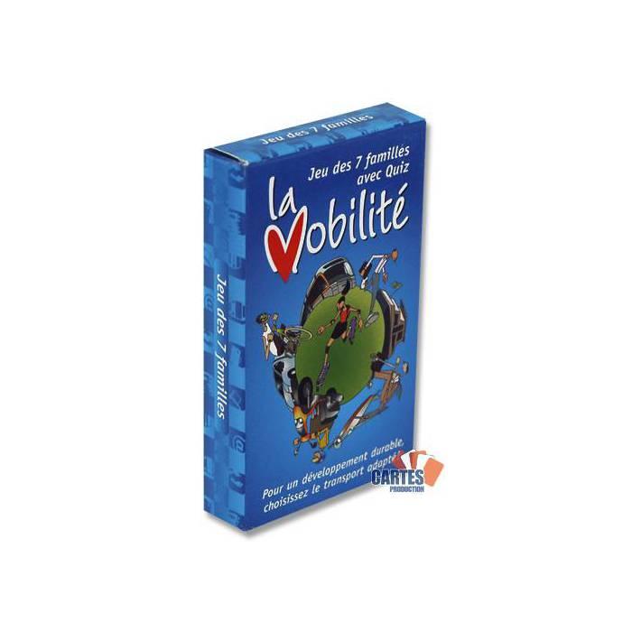 Jeu des 7 Familles la Mobilité – jeu de 42 cartes