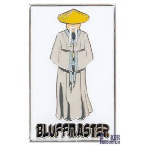 Card guard BLUFFMASTER – en métal – 2 faces différentes