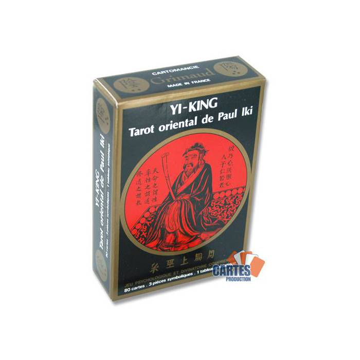 Yi-King Tarot oriental de Paul Iki - Jeu de 80 cartes