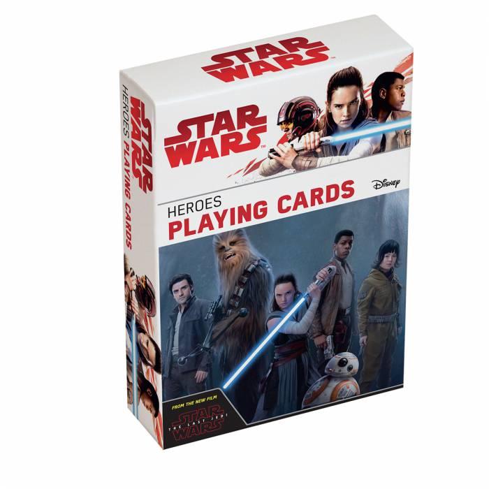 """Star Wars """"Heroes"""" - Jeu de 55 cartes"""