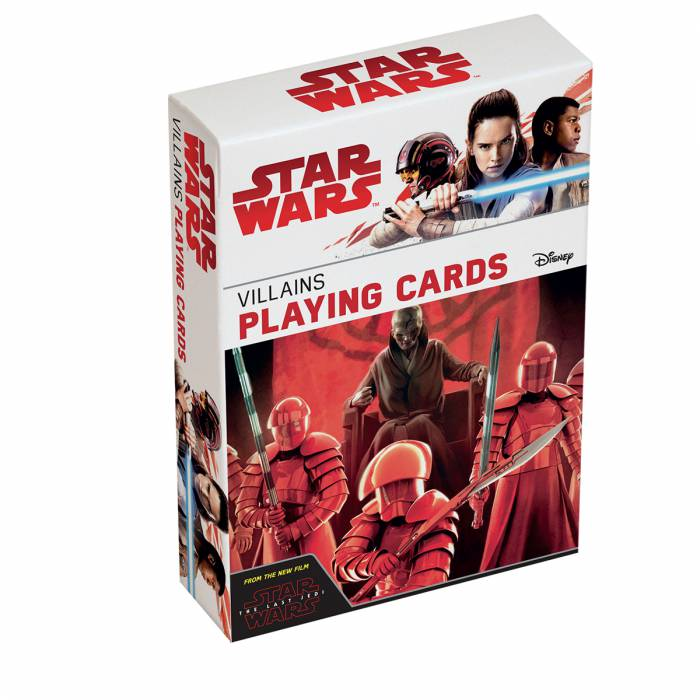"Star Wars ""VILLAINS"" Episode VIII - Jeu de 54 cartes"