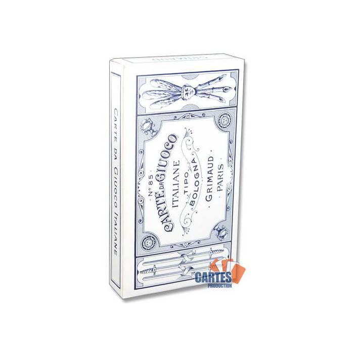 Grimaud Bologna- jeu de 40 cartes cartonnées plastifiées