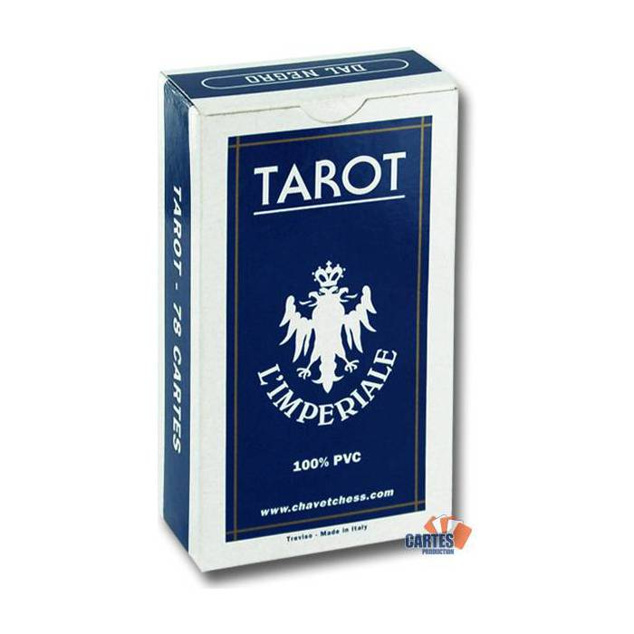 Tarot L'impériale – jeu de 78 cartes100% plastique – index standards