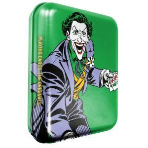 """DC COMICS THE JOKER"" - Boîte métal - Jeu de 54 cartes"