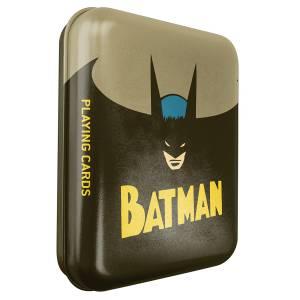"""""""DC COMICS BATMAN"""" - Boite métal - Jeu de 54 cartes"""