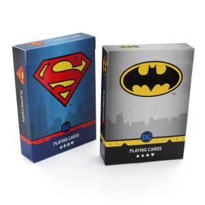 """""""SUPERMAN X BATMAN"""" - Jeu de 54 cartes - Blister mixte 2 jeux"""