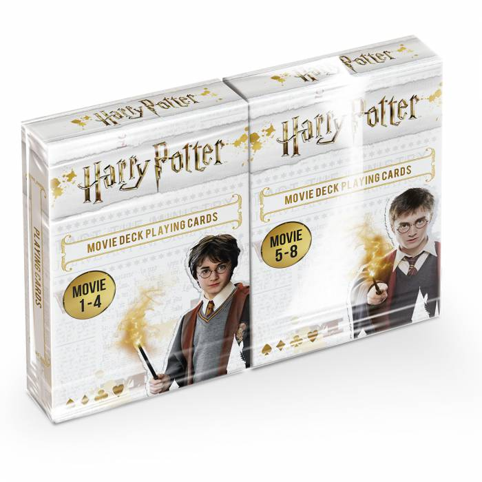 """HARRY POTTER ALOHOMORA"" - Jeu de 54 cartes - Blister mixte 2 jeux"