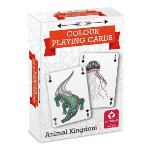 """ANIMAL KINGDOM"" - jeu de 54 cartes à colorier"