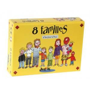 """""""8 FAMILLES D'AUJOURD'HUI"""" - jeu des 8 familles"""