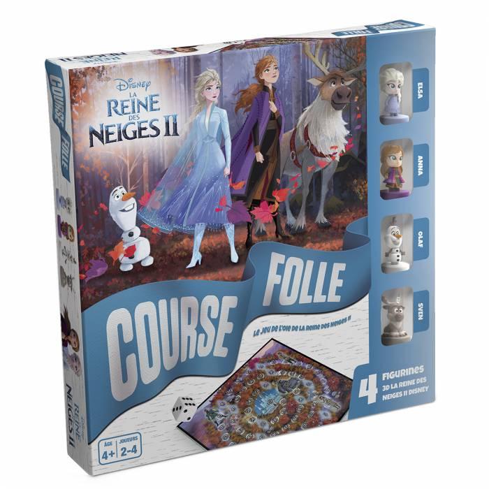"""""""LA REINE DES NEIGES 2 - COURSE FOLLE"""" - jeu de l'oie"""