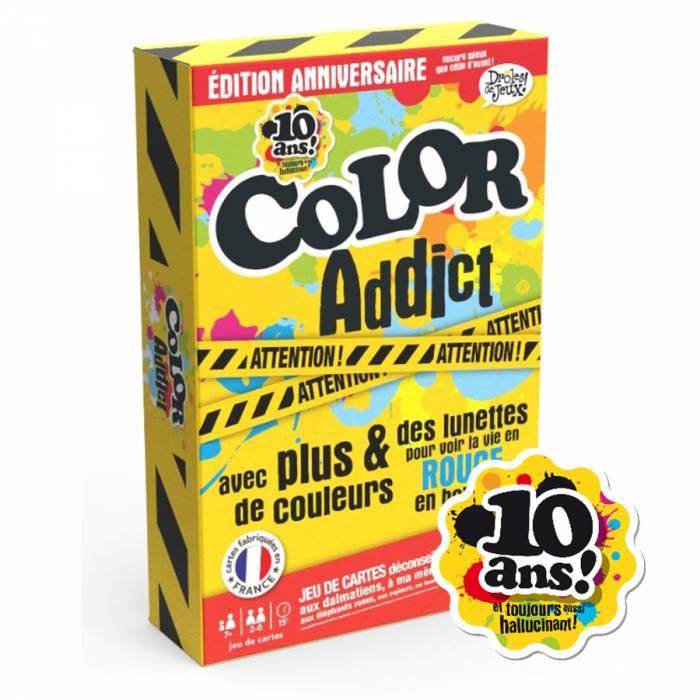 """""""COLOR ADDICT - 10 ANS"""" - Édition limitée - avec une paire de lunettes rouge"""