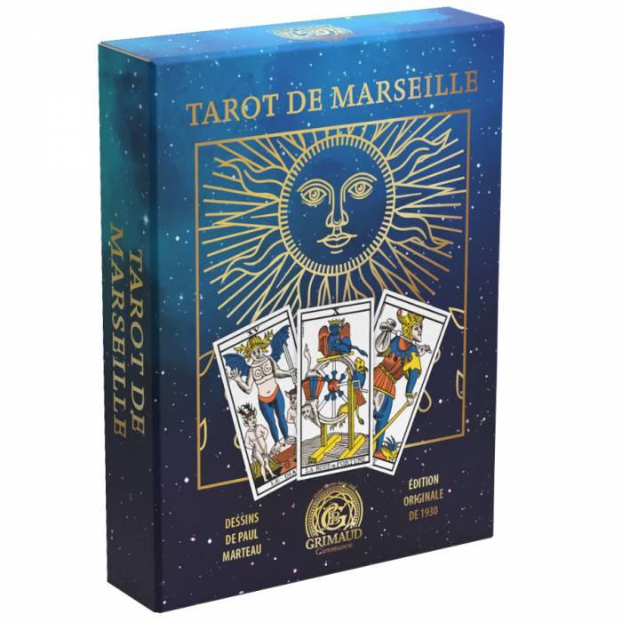 """Coffret Ancien Tarot de Marseille """"ÉDITION LIMITÉE"""" -  édition original de de 1930"""