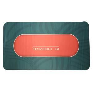 """Tapis de poker """"LEAF"""" - rectangulaire - 180 x 90 cm - 10 places - jersey néoprène"""