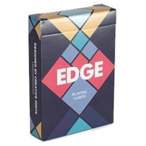 """Art of Play TCC """"EDGE""""- Jeu de 54 cartes - cartonnées - 2 index standards - format poker."""