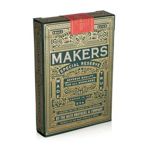 "Art of Play ""MAKERS"" - Jeu de 54 cartes - format poker - index standards."