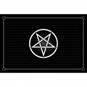 """Tapis de jeux de cartes """"PENTACLE"""" - jersey néoprène - 60 x 40 cm - rectangulaire"""