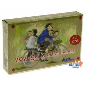 Voyage Autour du Monde – Jeu de 32 cartes :