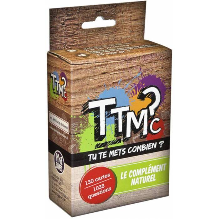 """""""TTMC - TU TE METS COMBIEN ? """" - Extension - jeu d'ambiance - jeu de 130 cartes - culture générale"""