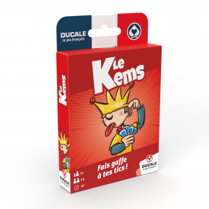 """Le Jeu Français : """"JEU DU KEMS"""" - jeu de 52 cartes."""