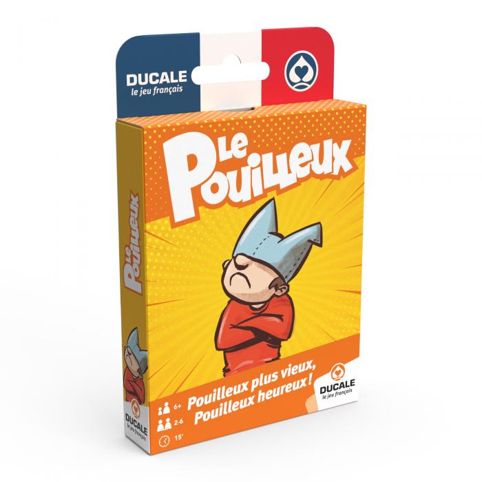 """DUCALE Le Jeu Français :  """"JEU DU POUILLEUX""""- jeu de 52 cartes"""