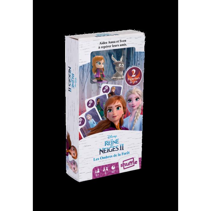"""LA REINES DES NEIGES 2- """"JEU DES OMBRES DE LA FORÊT""""  + 2 figurines."""