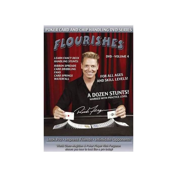 Chip Tricks : Flourishes Vol.4 - DVD en anglais
