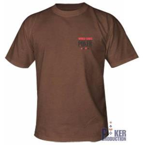 T-Shirt WSOP Saloon Marron