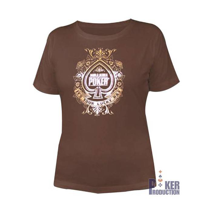 T-shirt femme WSOP Lucky Day