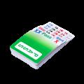 Lot de 4 recharges Bridge Partner CLASSIC
