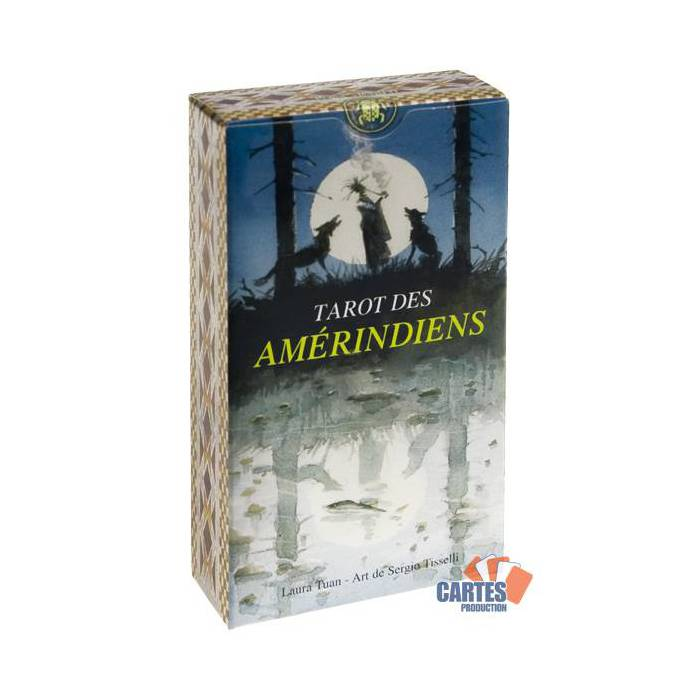 Tarot des Amérindiens - Jeu de 78 cartes