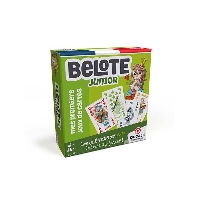 BELOTE JUNIOR - Ducale le jeu français