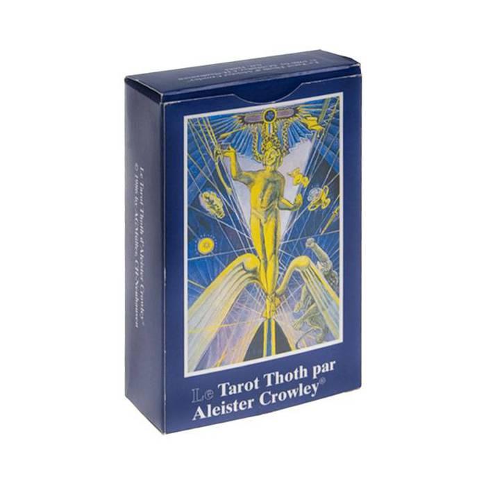 Grand tarot Thot par Aleister Crowley - Jeu de 80 cartes